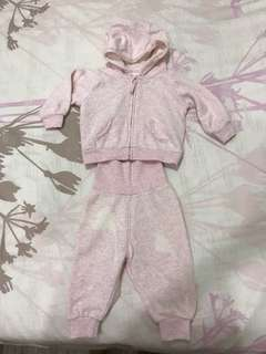 H&M sweater set 2-4 months big cutting