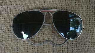 B&L RAY BAN USA AVIATOR SUNGLASSES