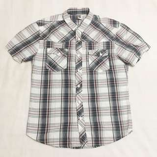 Bench Plaid Casual Polo