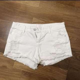 🚚 刷白牛仔褲 短褲