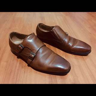 ALDO Leather Double Monk Strap