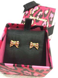 Juicy Couture pink butterfly Earrings