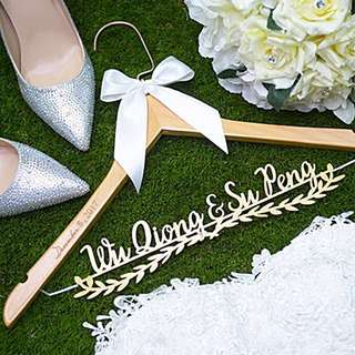 Customized Wedding Hanger