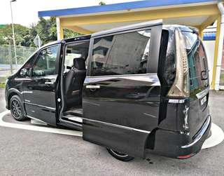 Sambung Bayar Nissan Serena Highway Star