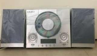 KYODO Mini CD HI-FI System 微型音響