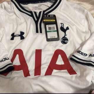 全新Tottenham Hotspur x under Armour x AIA主場球衣