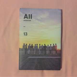 SEVENTEEN Al1 (All ver)