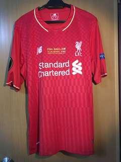 Liverpool FC 2015/16 Home Kit Europa League Final Basel