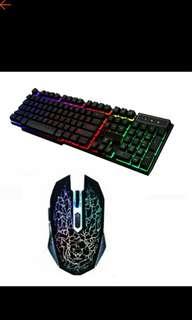 Gaming mouse&keyboard set