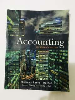 Accounting An Asian Edition (Third Edition)