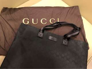 Gucci GG monogram 尼龍Tote bag