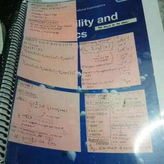 A Level Probability and Statistics Revision Guide Vol 1