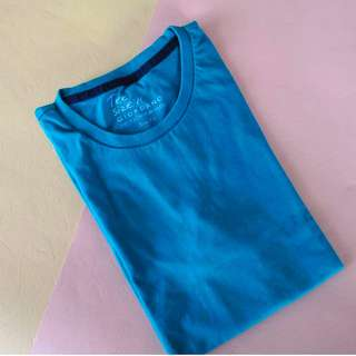 Giordano Teal T-Shirt Slim Fit