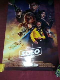 Solo: a star wars story (2018) movie poster