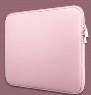 Classic Neoprene Inner Padded MacBook Computer Laptop Zipper Sleeve Casing