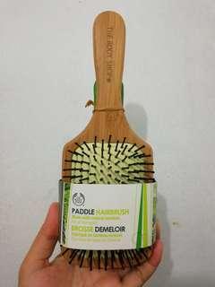 The body shop paddle brush