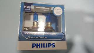 Philips 5000k diamond version hb3 bulb
