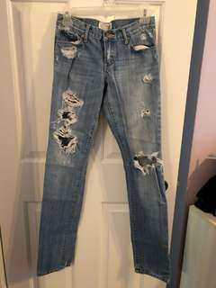 Abercrombie and Fitch boyfriend jeans