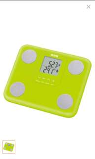 Tanita Compact and Lightweight Body Composition Monitor (Green)