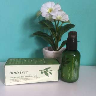 [Kondisi NEW] Innisfree Green tea seed serum | Wardah | Emina | Maybelline | The body shop | victoria secret