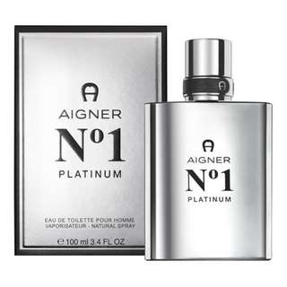 ETIENNE AIGNER NO 1 PLATINUM POUR HOMME EDT FOR MEN 100ML