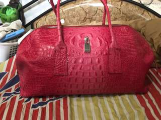 Authentic leather furla bag