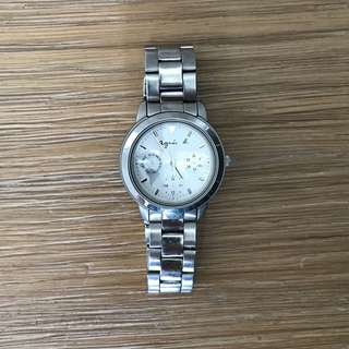 agnes b. V33J-0010 Watches Stainless steel/SS Women