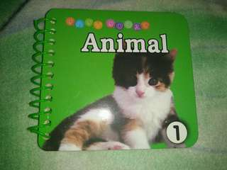 Animals booklet 1