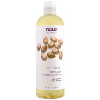 473ML Castor Oil by Now Solutions