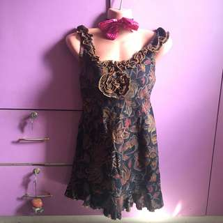 Floral dress elegant dress