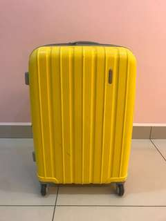 Yellow Luggage Medium size