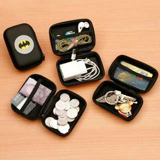 Dompet headset / charger