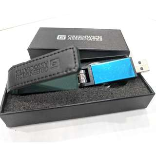 Quality 3.74GB Blue Pendrive with Box