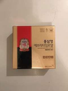 正官庄 高麗參膏口服液 EVERYTIME 禮盒裝 (30包)