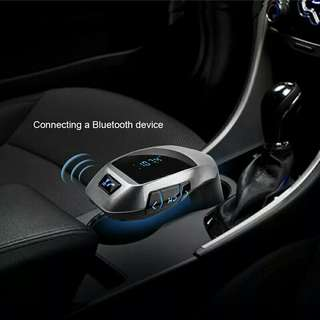 BLUETOOTH AUDIO CAR CHARGER