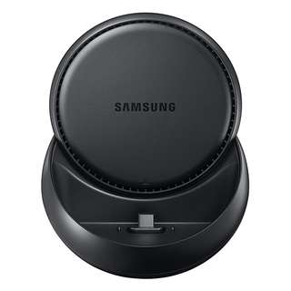 428. Samsung DeX Station, Desktop Experience for Samsung Galaxy Note8 , Galaxy S8, S8+, S9, and S9+ W/ AFC USB-C Wall Charger