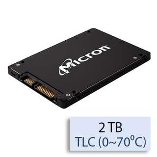 "Micron 1100 2 TB 2.5"" Internal Solid State Drive - SATA (NEW)"
