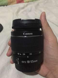 18-55mm canon kit lense