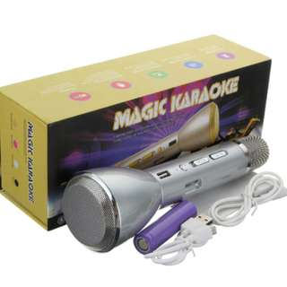 Brand New Magic Karaoke K088 Karaoke Wireless Microphone Handheld KTV with Bluetooth Speaker