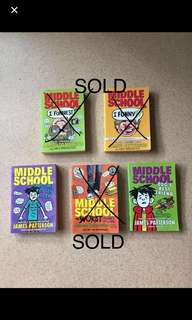 """MIDDLE SCHOOL SERIES- """"I FUNNY"""" by JAMES PATTERSON"""