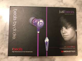Beats by Dr. Dre Justin Bieber Limited Edition