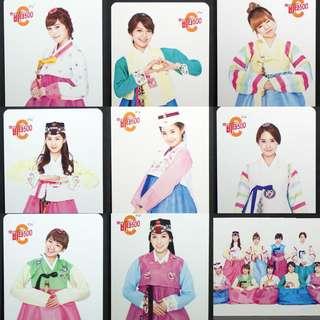 SNSD Vita500 Promotion Photocard