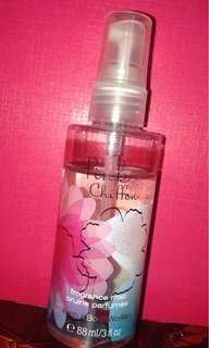 pink chiffon fragrance mist from bath and body works
