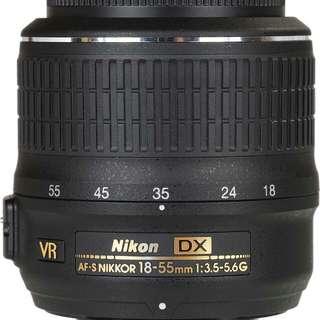 Nikkor Lens 18-55mm