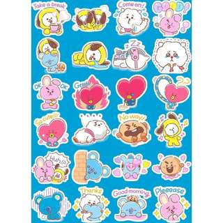 Preorder - BT21 STICKER exc.pos
