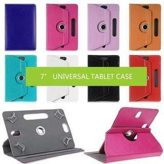 Universal leather case for tablets