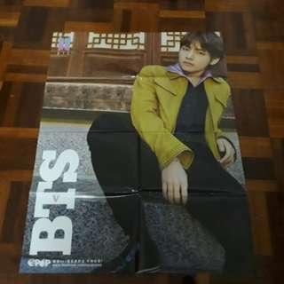 BTS V+ NCT Lucas Epop Poster