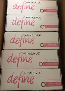 1 Day Acuvue Define 閃鑽棕