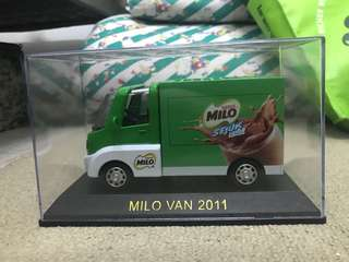 Milo truck collectible