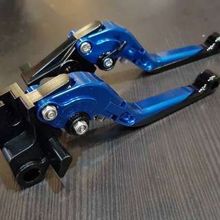 Z900 clutch and brake lever blue color!